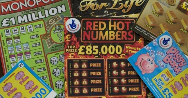 scratch card win