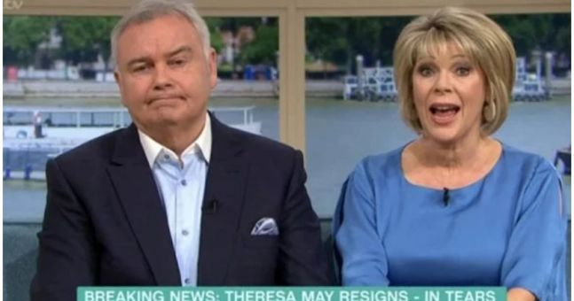 Eamonn Holmes and Ruth Langsford to start rival TV show following This Morning axe