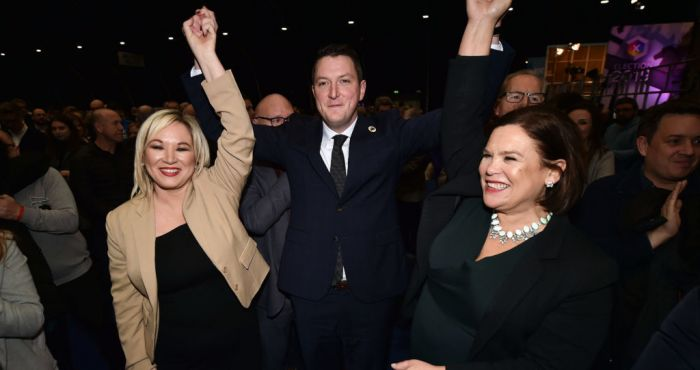 Nationalist and republican MPs outnumber unionists following watershed election for Northern Ireland