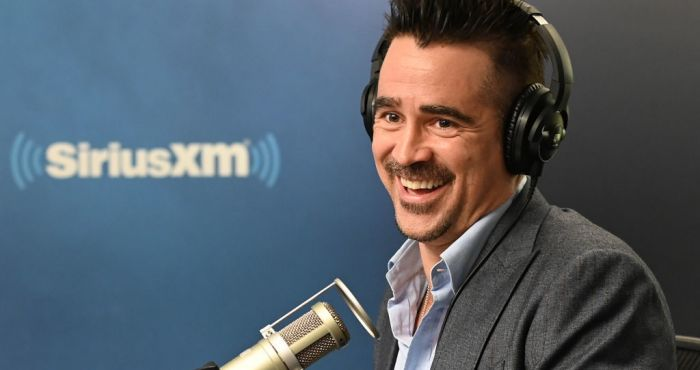 Colin Farrell took a DNA test to find out how Irish he is
