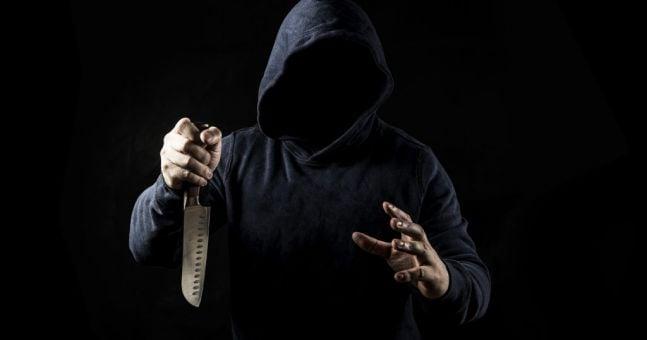 MAJOR rise in knife crime among Irish youth