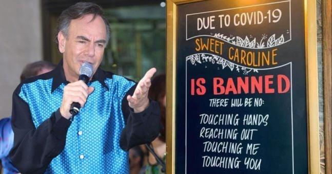 Irish Pub Bans Neil Diamond S Sweet Caroline From Venue Amid