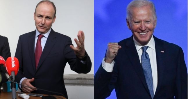 Joe Biden desperate to visit Ireland telling Micheál Martin 'try and keep me out' in call with Taoiseach