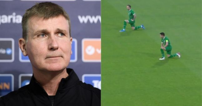 Republic of Ireland manager slams 'incomprehensible' behaviour of fans who booed players taking knee