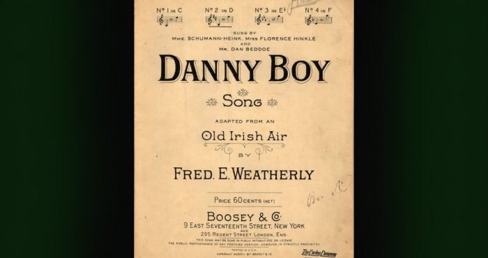 Oh Danny Boy! Seven facts about Ireland's most famous song