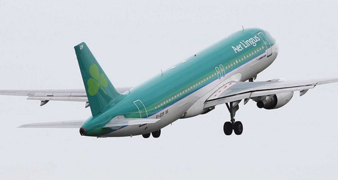 'Drunk' Aer Lingus passenger tied to seat after putting 'his hands on a flight attendant' during Dublin flight