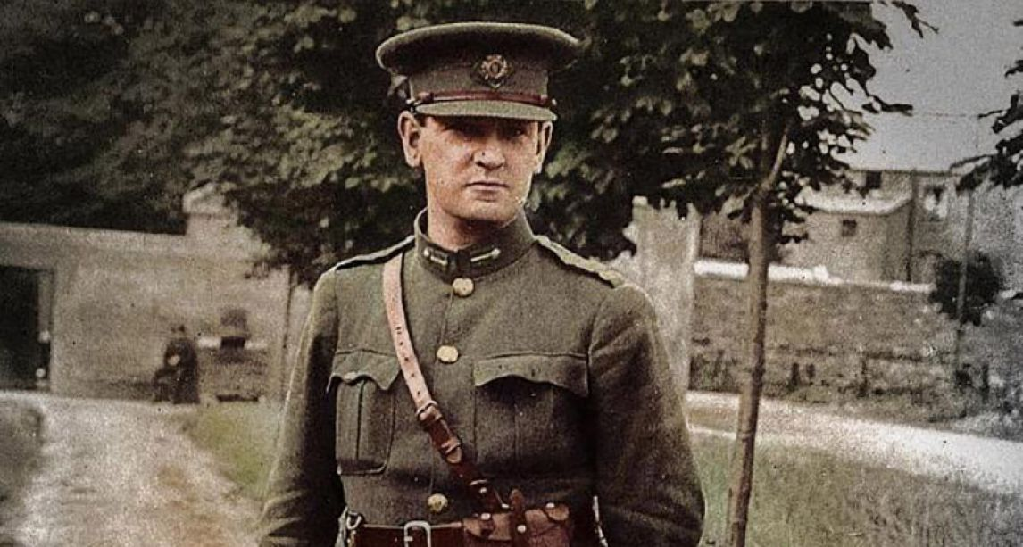 Today marks the 97th anniversary of Irish revolutionary Michael Collins' assassination