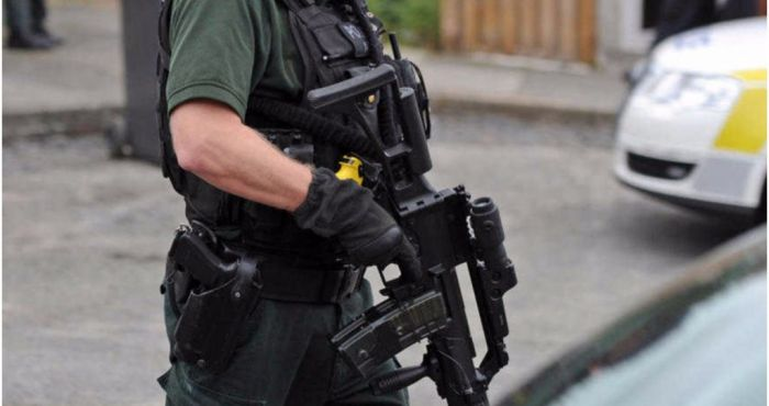 Armed police to be stationed near Irish border as Brexit deadline nears