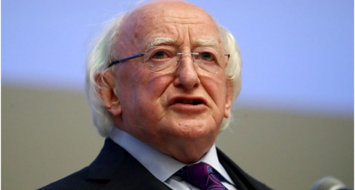 President Michael Higgins signs new Bill extending parental leave into Irish law
