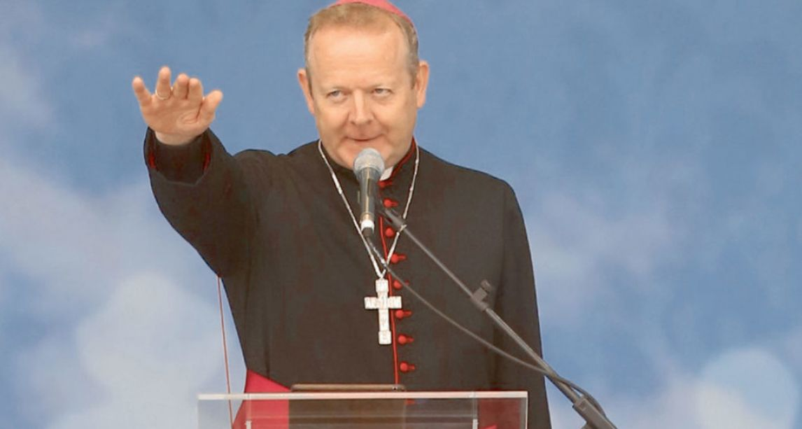 Head of the Catholic Church in Ireland calls for reintroduction of abstinence from alcohol and drugs