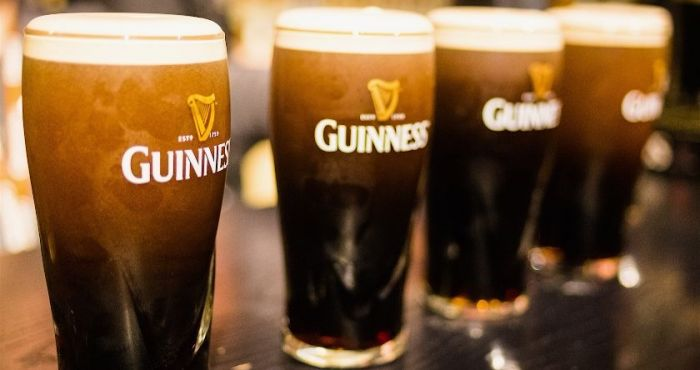 Guinness are giving away 15,000 free pints of the black stuff this weekend