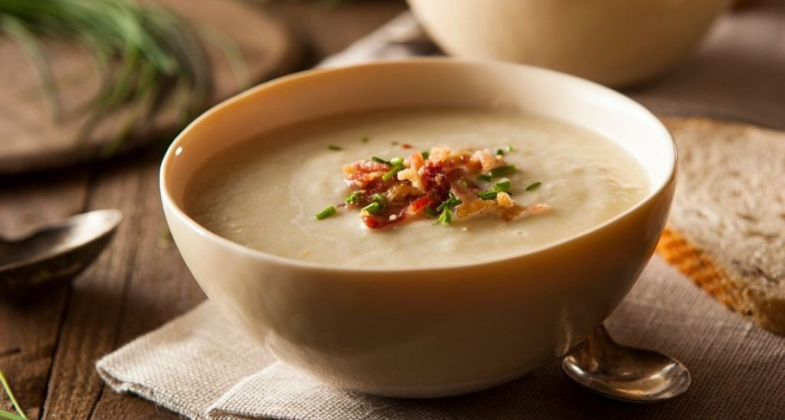 This traditional Irish Potato Soup recipe will see you through a cold winter