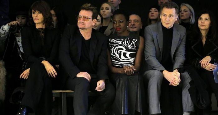 Bono convinced Liam Neeson to make his first film in