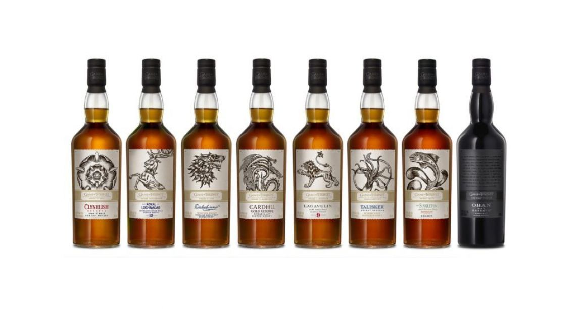 The Game of Thrones Single Malt Whisky Collection available for pre-order