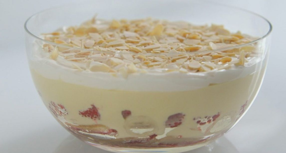 Have yourself a very merry Christmas with this Irish sherry trifle recipe