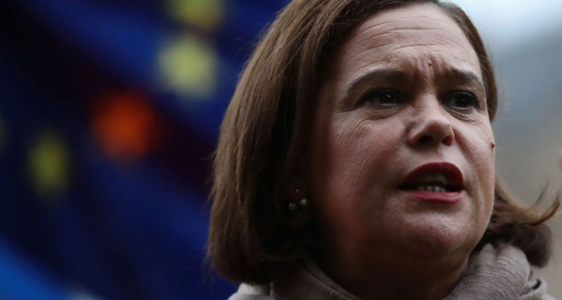 Sinn Féin tell Theresa May a Unity Referendum must be held in event of a no-deal Brexit