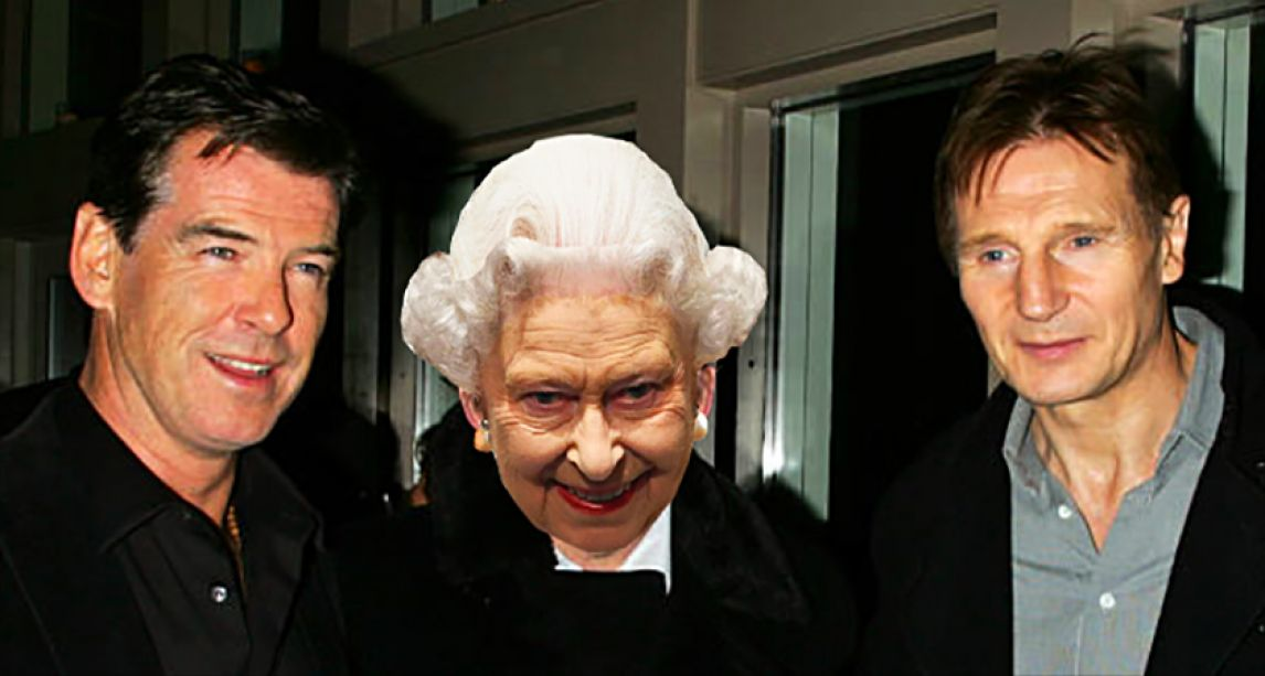 Liam Neeson, Pierce Brosnan and the Queen voted among celebrities who have aged best