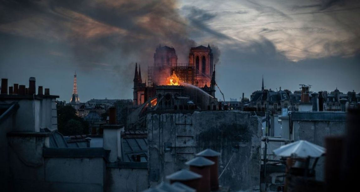 'It was like a wake' – Irish cleric who witnessed Notre Dame fire describes unfolding drama