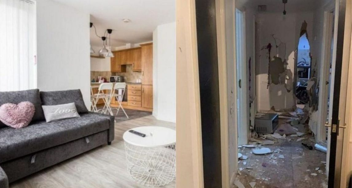 Belfast rental flat decimated by vandals at unauthorised party organised on social media
