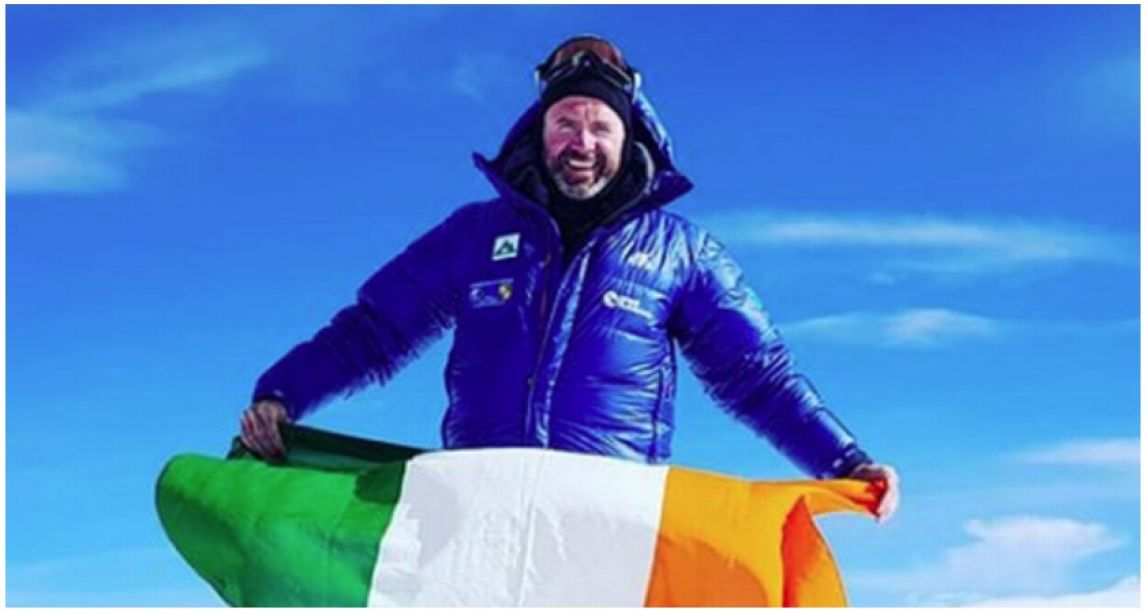 Séamus Lawless: Irish climber fell to his death when gust blew him off Everest after he 'unclipped safety rope' to relieve himself – companion says