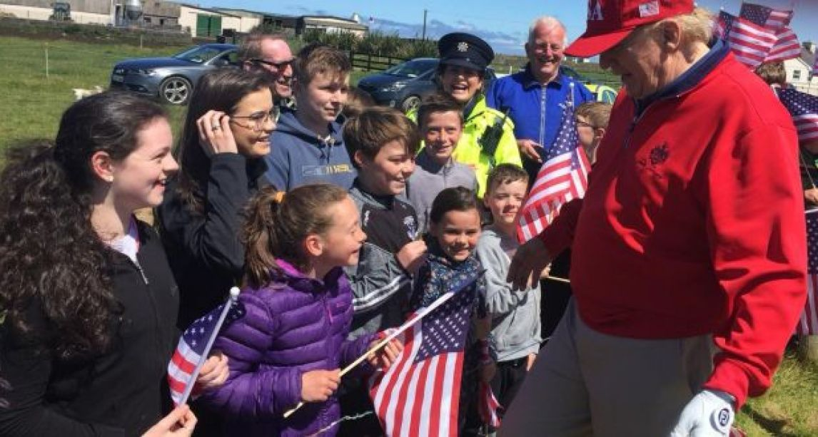 Doonbeg tourism bookings 'soaring by 30%' after visit by US President Donald Trump