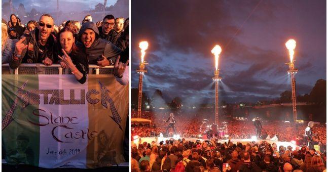 Metallica donate over €70,000 to Irish charities after epic Slane