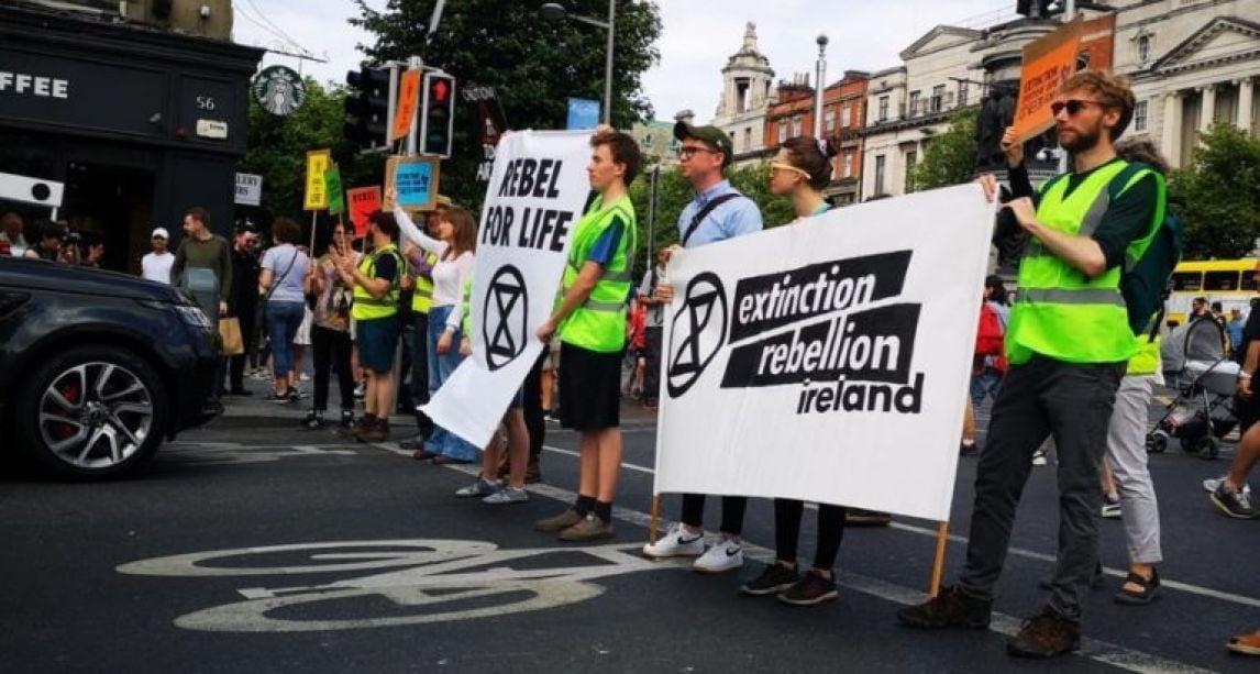 Extinction Rebellion Ireland holding demonstrations in Cork and Dublin