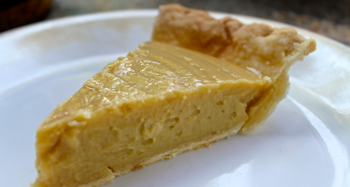 A butterscotch Irish whiskey pie recipe for super sweet and brilliantly boozy dessert treat