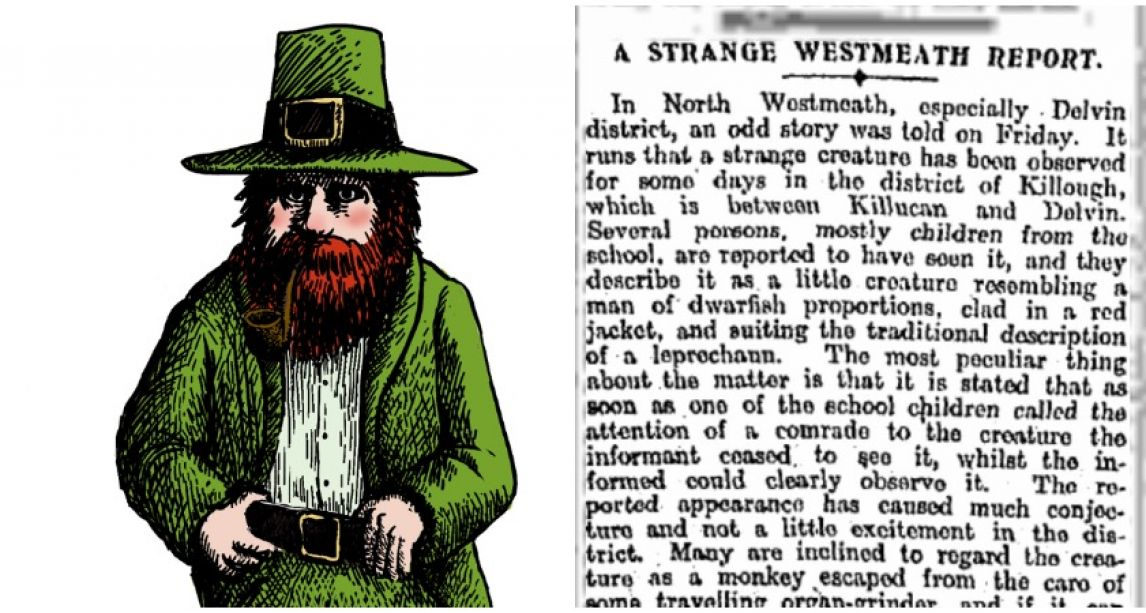 In 1908 Westmeath became a 'leprechaun hotbed' amid dozens of sightings