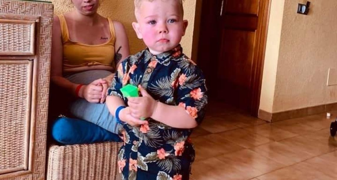 Two-year-old fighting for life after suffering seizure while on holidays in Spain