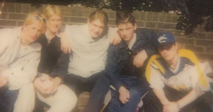 Nicky Byrne shares hilarious first ever picture of Westlife | The Irish Post