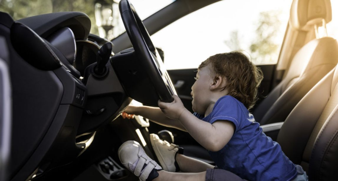 8-year-old boy goes on 140kph joyride in mother's car