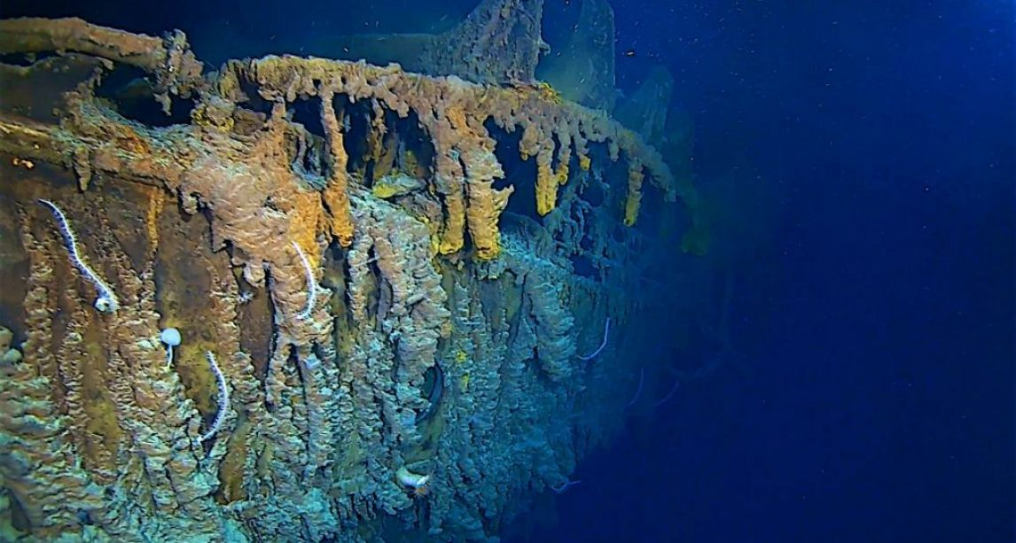 First ever 4k images of RMS Titanic show state of wreck on first manned dive in 14 years