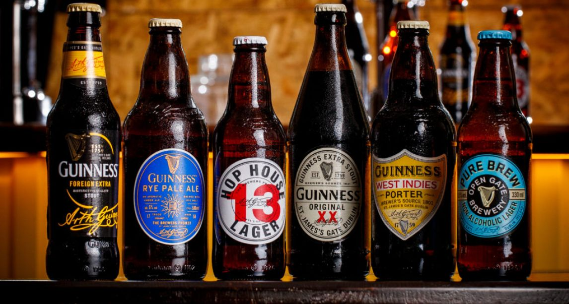 Guinness is now home to one of the best LAGERS in the world