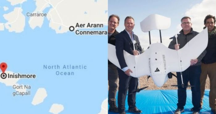Diabetes Drone: Galway researchers complete 'world's first' insulin drop to isolated Aran Islands via drone