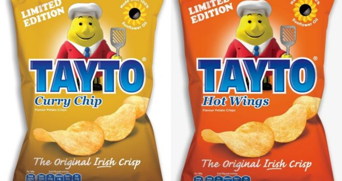 Try to stay calm, because Tayto are now doing Curry Chip flavour crisps