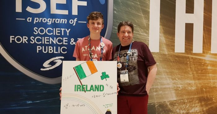 The world's smartest teenager? - Dublin student wins European Young Scientists award   The Irish Post