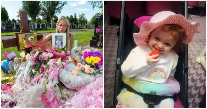 Irish mother despairs after vandals target grave of her murdered toddler in Co Cork   The Irish Post