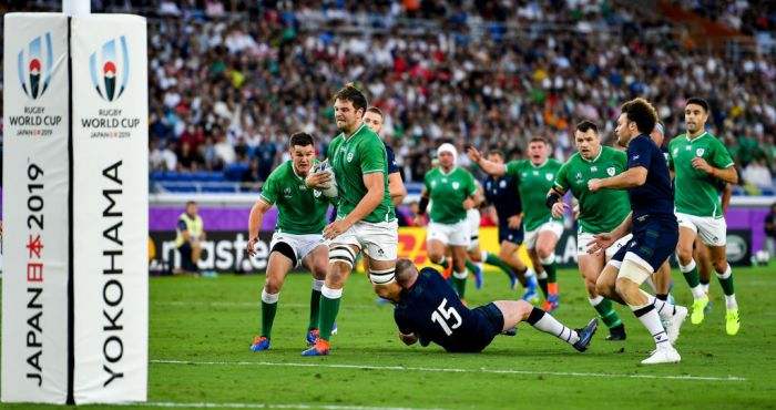 RTE coverage of Ireland's Rugby World Cup win over Scotland marred by commentary blunder