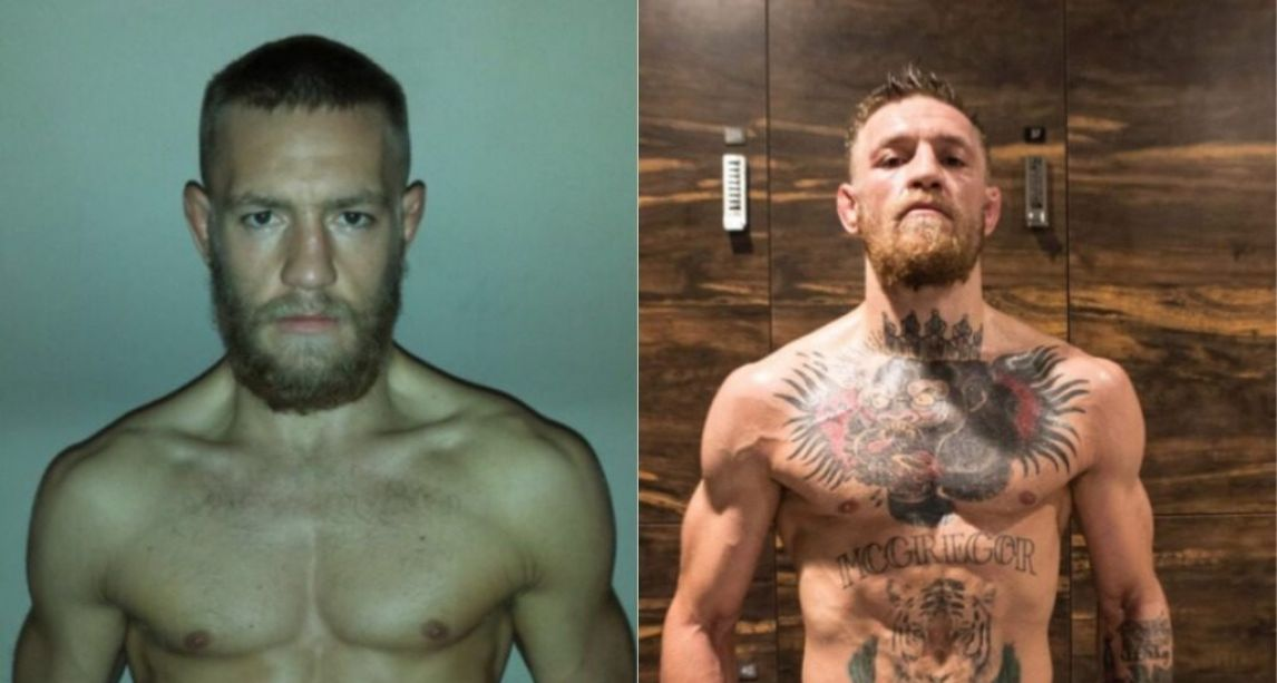 Conor McGregor's shows off incredible transformation in '10 Year Challenge' post