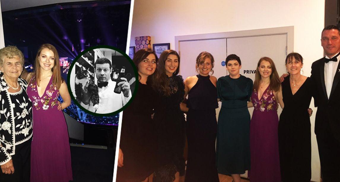 Dermot O'Leary donates his NTAs 2019 box to London Irish Centre charity volunteers