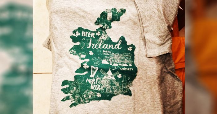 b545c1341 American retailer slammed over 'offensive' St Patrick's Day shirt omitting  Northern Ireland from its design | The Irish Post