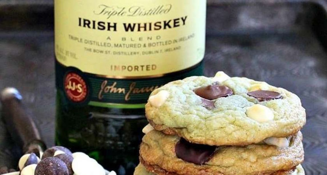 Jameson mint chocolate chip cookies are the sweet treat you need in your life