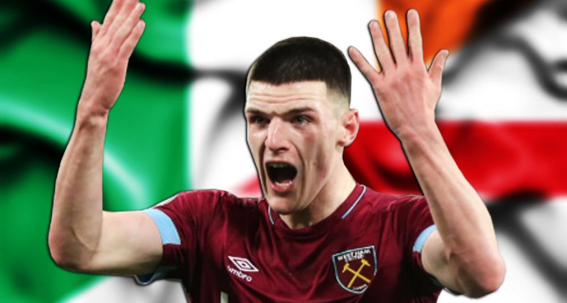 Declan Rice issues apology for making pro-IRA 'Up the RA' comments on social media