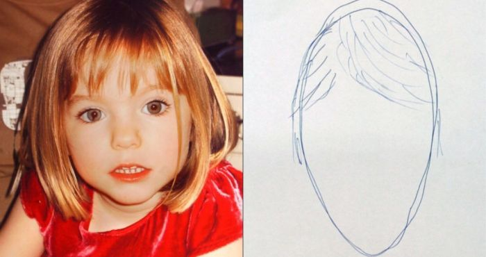 Portuguese police 'released e-fit of Madeleine McCann without eyes