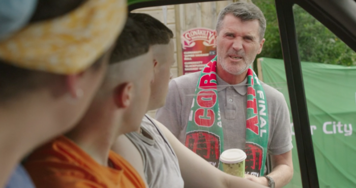 Roy Keane told to 'f*** off' during cameo appearance in Young Offenders