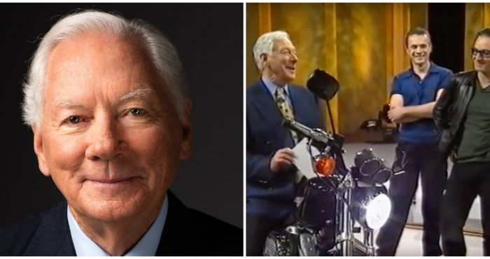 Gay Byrne's daughter reveals her father raffled off his Harley Davidson for charity