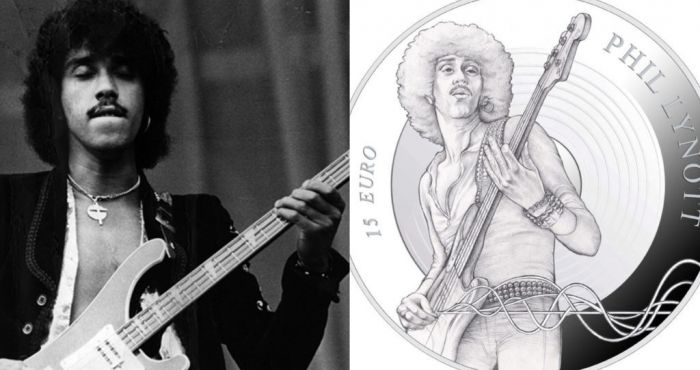 Limited edition Phil Lynott coin will be launched to mark 70 years since the legendary musician's birth