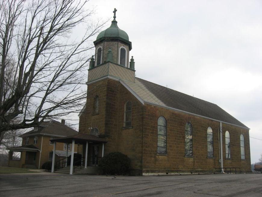 Holy Cross Catholic Church in St. Croix