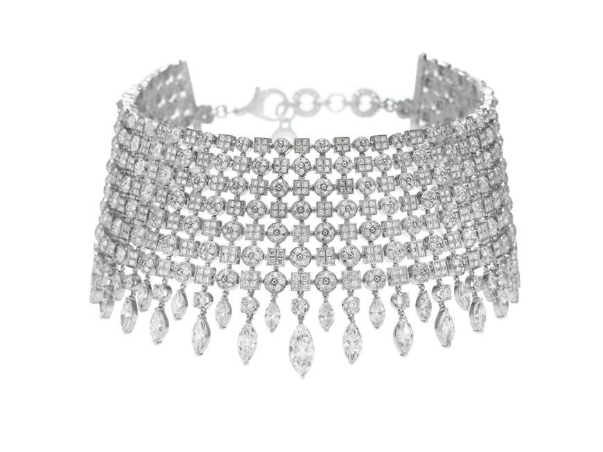 Diamond Choker Sold At Christies